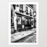 The Mayflower Pub London Art Print