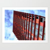 Looking Up! 12 Art Print
