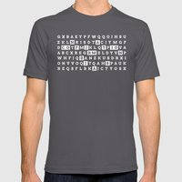 Confirmation Bias Mens Fitted Tee Asphalt SMALL