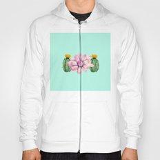 Watercolor cactus  Hoody
