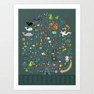 Magna Arbor Vitae Deku -… Art Print