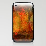Abstract Moons iPhone & iPod Skin