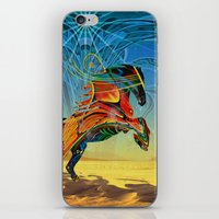 The Wind Of Time (Red Ho… iPhone & iPod Skin
