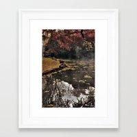 Lights and colors Framed Art Print