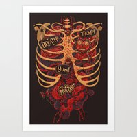 Anatomical Study - Day O… Art Print