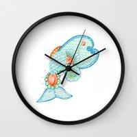 Monsieur Poisson Wall Clock