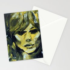 THE YELLOW QUICK PORTRAIT Stationery Cards