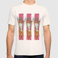 The Ultimate Pollinator,… Mens Fitted Tee Natural SMALL