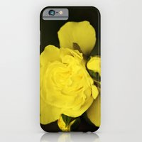 iPhone Cases featuring Yellow Rose by Christina Rollo