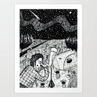 NEW BERLIN - View From E… Art Print