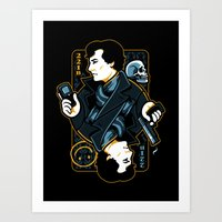 The Detective Of 221B Art Print