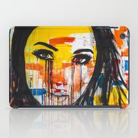 The unseen emotions of her innocence iPad Case