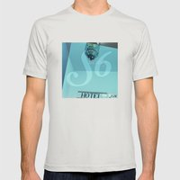 Society 6 Mens Fitted Tee Silver SMALL