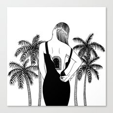 Come Into My World Canvas Print