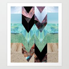 NILE Art Print