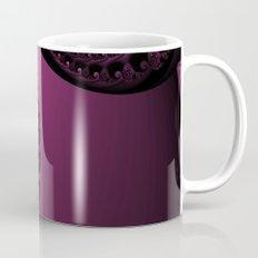 Pink and Black Fractal Mug