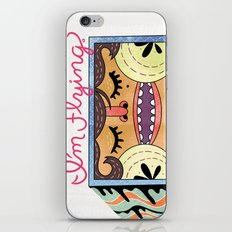 I'm Flying! iPhone & iPod Skin
