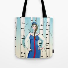Russian beauty Tote Bag