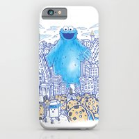Monster in the city iPhone 6 Slim Case