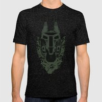 Feet First Into Hell - H… Mens Fitted Tee Tri-Black SMALL