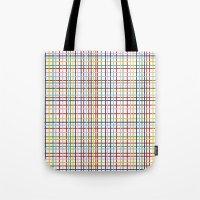 Rainbow Weave Tote Bag