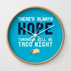 There's Always Hope... Wall Clock