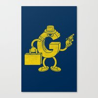 G-Man Canvas Print
