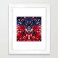 Omen art Framed Art Print
