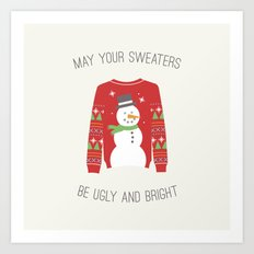 Ugly Sweater Art Print