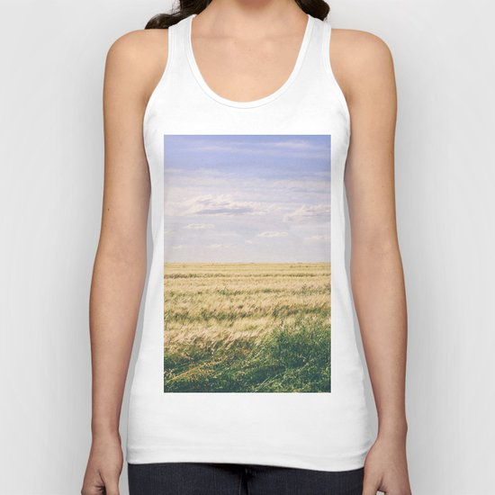 How far you can see? Unisex Tank Top