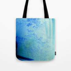 Fire Forest Tote Bag