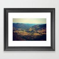 Cherokee Natural Area Framed Art Print