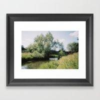 Bridge Over River Bure, … Framed Art Print