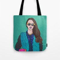 Touch of Pink Tote Bag