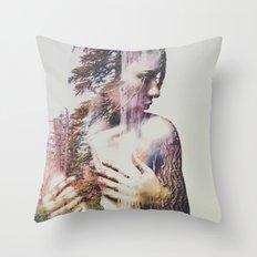 Wilderness Heart #3 Throw Pillow