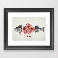 To Bloom Not Bleed Framed Art Print
