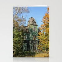 Old Creepy House Stationery Cards