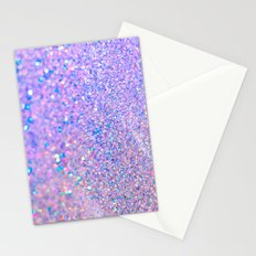 Glitter is the best medicine Stationery Cards