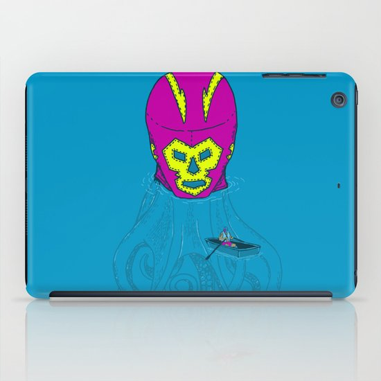 Trolling for a fight iPad Case