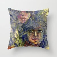 Sisters. Throw Pillow