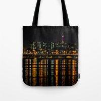Seoul City Lights Tote Bag