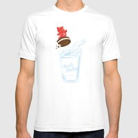 Sweets Surfing Mens Fitted Tee White SMALL