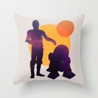 Star Wars BFF Throw Pillow