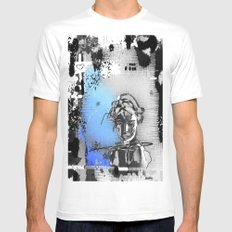 Lost love Mens Fitted Tee SMALL White