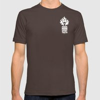 Worship Him In Spirit & In Truth Mens Fitted Tee Brown SMALL