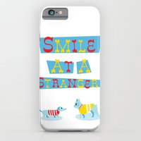 Smile At A Stranger iPhone 6 Slim Case