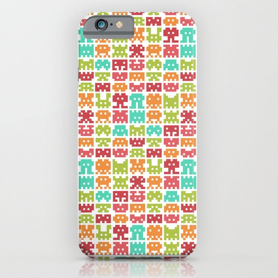 8 bit monster iPhone & iPod Case