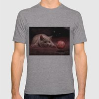 Mouse on Mars Mens Fitted Tee Athletic Grey SMALL