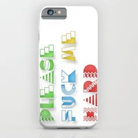 iPhone & iPod Case featuring Please Fuck Me Hard by Ariel Conde