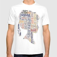 Anna Mens Fitted Tee White SMALL
